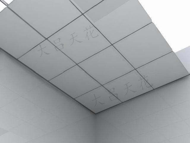 DL1005 方形铝扣板工程产品效果图