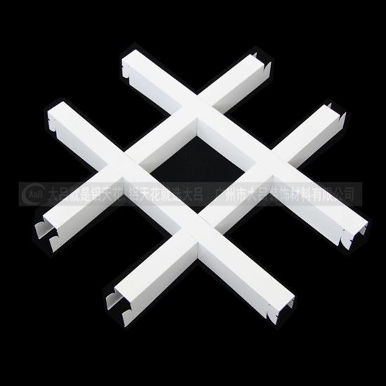 广东铝格栅价格实惠专业生产批发优质铝格栅吊顶