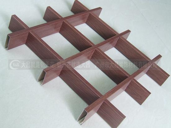 广东铝格栅价格实惠专业生产批发优质正方形铝格栅