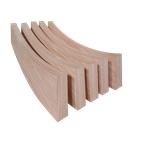弧形铝方通厂家直销 木纹弧形铝方通可定制 量大从优