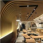 武汉金禾中心美食广场-异形铝方通案例