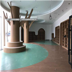 图书馆铝板装修案例 - 树形铝单板